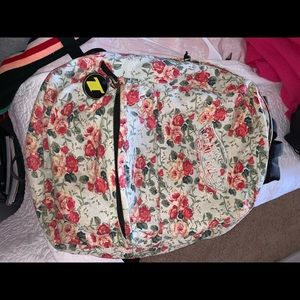 Vans off the wall floral backpack